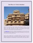 Best Places to Visit in Jaisalmer PowerPoint PPT Presentation