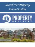 Search For Property Owner Online PowerPoint PPT Presentation