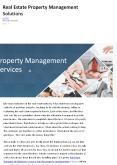 Real Estate Property Management Solutions PowerPoint PPT Presentation