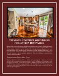 Things to Remember When Going for Kitchen Renovation PowerPoint PPT Presentation
