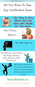 Free Updated Testcollection Exam Dumps PowerPoint PPT Presentation