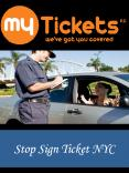 Stop Sign Ticket NYC PowerPoint PPT Presentation