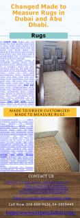 Rugs in Dubai and Abu Dhabi PowerPoint PPT Presentation