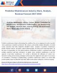 Predictive Maintenances Market Sales,Revenue, Demand Forecast to 2022 PowerPoint PPT Presentation
