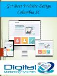 Get Best Website Design Columbia SC PowerPoint PPT Presentation