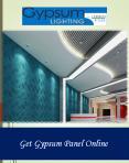 Get Gypsum Panel Online PowerPoint PPT Presentation