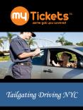Tailgating Driving NYC PowerPoint PPT Presentation