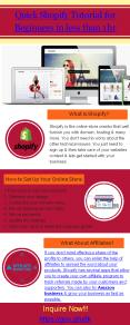 Quick shopify training for Beginners in less than 1 hr PowerPoint PPT Presentation