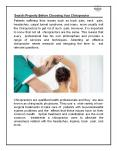 Search Properly Before Choosing Your Chiropractor PowerPoint PPT Presentation