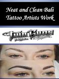 Neat and Clean Bali Tattoo Artists Work PowerPoint PPT Presentation
