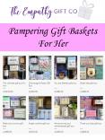Pampering Gift Baskets For Her PowerPoint PPT Presentation