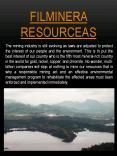 Filminera Resources PowerPoint PPT Presentation