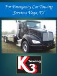 For Emergency Car Towing Services Vega, TX PowerPoint PPT Presentation