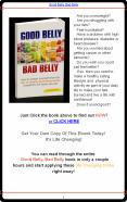 Good Belly Bad Belly PowerPoint PPT Presentation