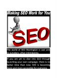 Making seo work for you PowerPoint PPT Presentation
