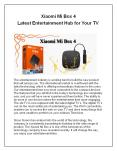 Xiaomi Mi Box 4 - Latest Entertainment Hub for Your TV PowerPoint PPT Presentation