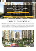 Prestige High Fields Gachibowli Hyderabad