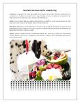 Nine Tasty Nutritious food for a Healthy Dog PowerPoint PPT Presentation
