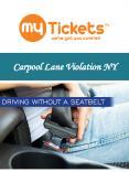 Carpool Lane Violation NY PowerPoint PPT Presentation