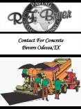 Contact For Concrete Pavers Odessa,TX PowerPoint PPT Presentation