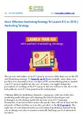 Most Effective Marketing Strategy To Launch ICO in 2018 | Marketing Strategy PowerPoint PPT Presentation