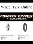Wheel Tyre Online PowerPoint PPT Presentation