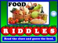 Let Us Talk about Food-Riddles PowerPoint PPT Presentation