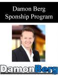 Damon Berg Sponship Program PowerPoint PPT Presentation