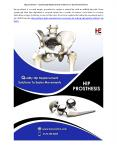Hip prosthesis – Quality Hip Replacement Solutions To Easier Movements PowerPoint PPT Presentation