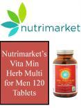 Nutrimarket's Vita Min Herb Multi for Men 120 Tablets PowerPoint PPT Presentation