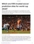 Which-are-FIFA-trusted-soccer-prediction-sites-for-world-cup-2018? PowerPoint PPT Presentation