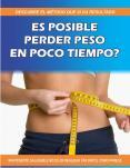 ES POSIBLE PERDER PESO EN POCO TIEMPO PowerPoint PPT Presentation