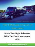 Hire Party Bus in Vancouver PowerPoint PPT Presentation