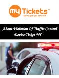 About Violation Of Traffic Control Device Ticket NY PowerPoint PPT Presentation