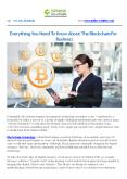 EVERYTHING YOU NEED TO KNOW ABOUT THE BLOCKCHAIN FOR BUSINESS PowerPoint PPT Presentation