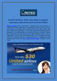 United Airlines Reservations   United Airlines Flights