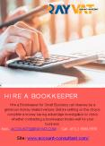Cost to Hire a Bookkeeper for Small Business PowerPoint PPT Presentation