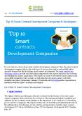 Top 10 Smart Contract Development Companies & Developers PowerPoint PPT Presentation