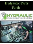 Hydraulic Parts Perth PowerPoint PPT Presentation