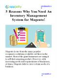 5 Reasons Why You Need An Inventory Management System for Magento! PowerPoint PPT Presentation