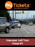 Improper Turn Ticket Lawyer NYC PowerPoint PPT Presentation