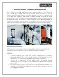 Comparison between Cell Phones and Smartphone's PowerPoint PPT Presentation