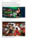 Why joining an online casino is right decision? PowerPoint PPT Presentation