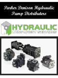 Parker Denison Hydraulic Pump Distributers PowerPoint PPT Presentation