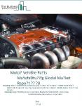Motor Vehicle Parts Manufacturing Global Market Report 2018 PowerPoint PPT Presentation
