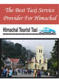 The Best Taxi Service Provider For Himachal PowerPoint PPT Presentation