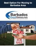 Best Option For Moving to Barbados Area PowerPoint PPT Presentation