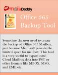 MailsDaddy Office 365 Backup Tool PowerPoint PPT Presentation