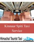 Kinnaird Spiti Taxi Service PowerPoint PPT Presentation