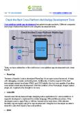 Check the Best Cross-Platform Mobile App Development Tools PowerPoint PPT Presentation